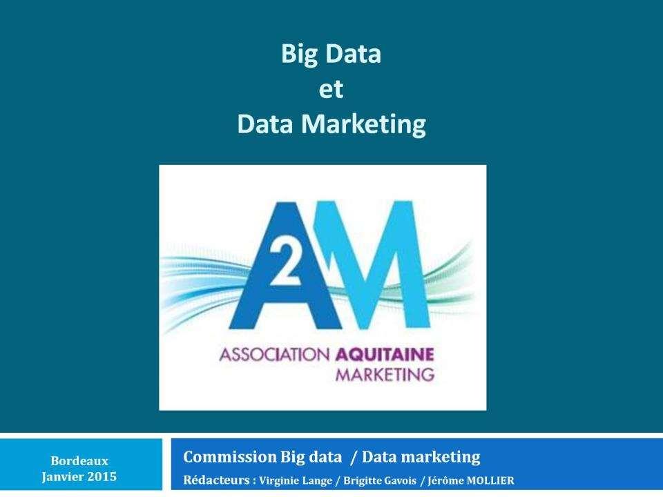 Livre blanc Big Data et Data Marketing
