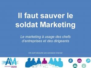 Livre blanc : Il faut sauver le soldat Marketing