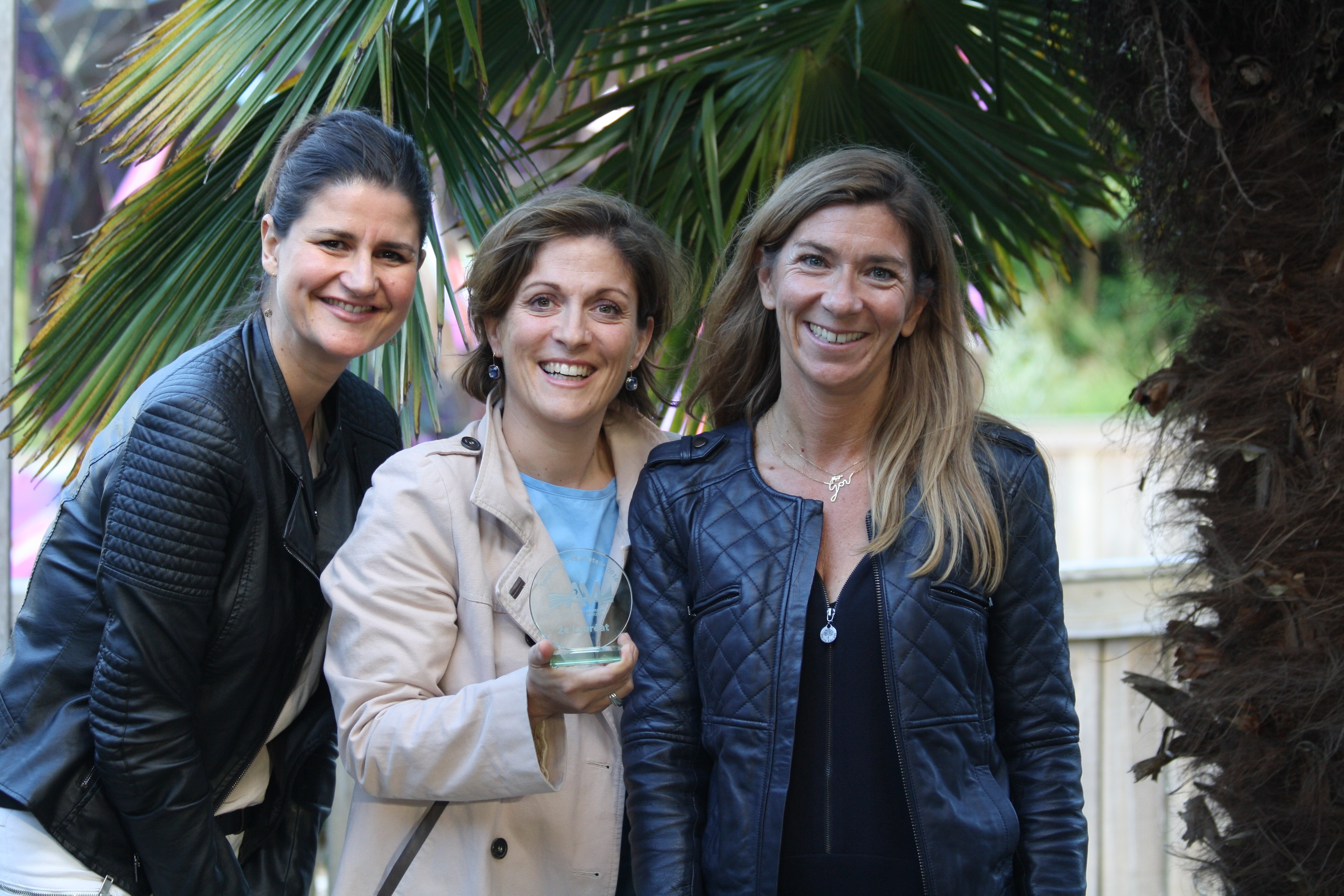 Stéphanie Chalard, Carine Porée et Elvire Nicolas, Beauty Sisters